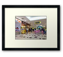 In the Mall # 8 Framed Print