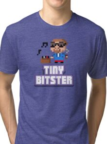 Tiny Tower Bitster Tri-blend T-Shirt