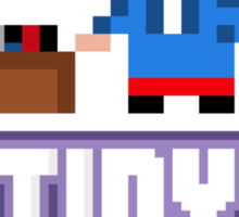 Tiny Tower Bitster Sticker