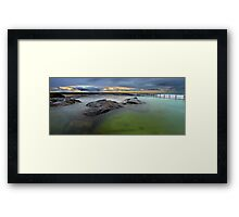 North Curl Curl Baths Framed Print