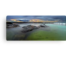 North Curl Curl Baths Canvas Print