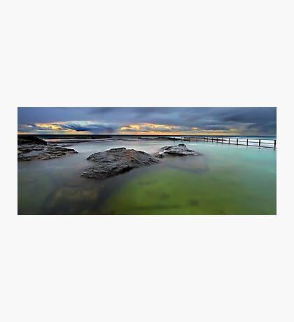 North Curl Curl Baths Photographic Print