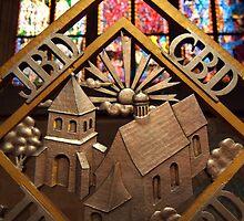 Metal Decoration in St Vitus Cathedral, Prague by SerenaB