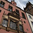 Buildings and Astronomical Clock, Prague by SerenaB