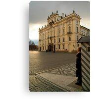 Guarding Prague Castle Canvas Print