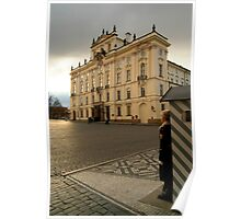 Guarding Prague Castle Poster