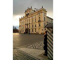 Guarding Prague Castle Photographic Print