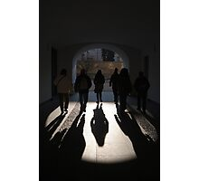 Light at the End of the Tunnel, Prague Castle Photographic Print