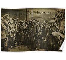 American Prisoners Of War Poster