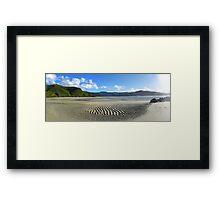 way toTaupo Point Framed Print