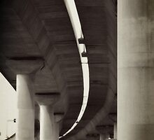 Industrial Grace - Bolte Bridge Melbourne by Norman Repacholi