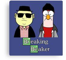 Breaking Bad Beaker & Bunsen Canvas Print