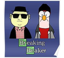 Breaking Bad Beaker & Bunsen Poster