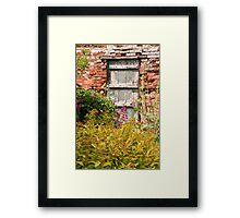 - The Lost Garden Framed Print