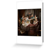 Family - Home for the holidays 1942 Greeting Card