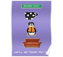 Hugsey Couch Friends Icons  Poster