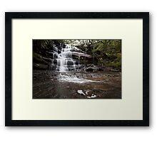 Somersby Falls Framed Print