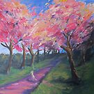 Cherry trees by QuothTheRaven