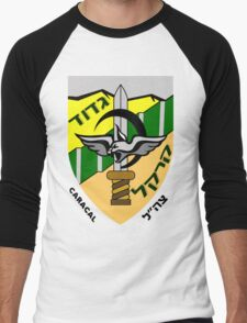 Caracal Battalion Logo Men's Baseball ¾ T-Shirt