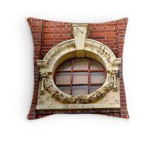 Old Window Throw Pillow