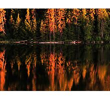 Brewer Lake Evening Light Photographic Print