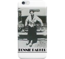 Bonnie Parker iPhone Case/Skin