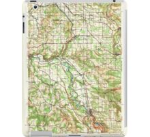 USGS Topo Map Oregon Boring 282270 1940 62500 iPad Case/Skin