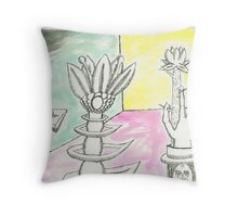thorn room Throw Pillow