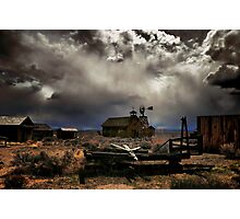 Fort Rock Ghost Town Photographic Print