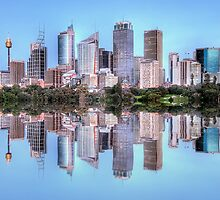 Sydney Cityscape by Richard  Cubitt