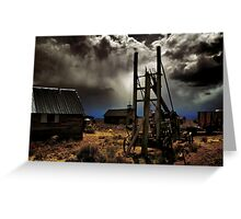 Fort Rock Ghost Town #2 Greeting Card