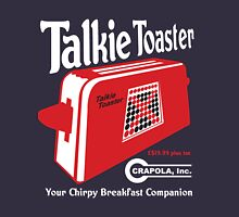 Talkie Toaster - Your Chirpy Breakfast Companion Unisex T-Shirt