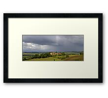 Saint Justin - Storm Approaching Framed Print