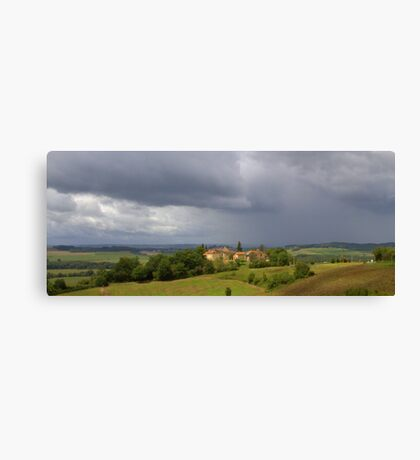 Saint Justin - Storm Approaching Canvas Print