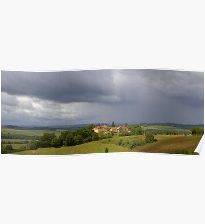 Saint Justin - Storm Approaching Poster