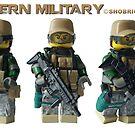 Modern Military Fox by Shobrick