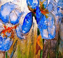 Early Morning Irises by © Janis Zroback