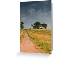 Abandoned Farms & Thunderstorms Greeting Card