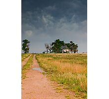 Abandoned Farms & Thunderstorms Photographic Print