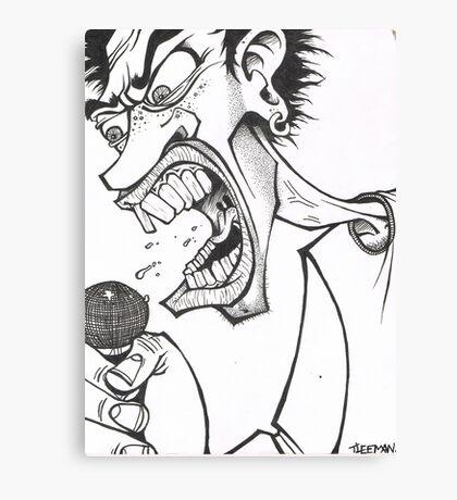 rock star Canvas Print