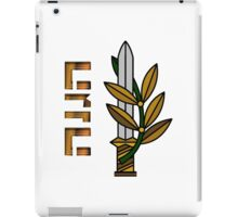 Haganah (The Defence) Logo iPad Case/Skin