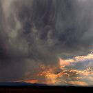 Three Sisters Thunder Storm by Charles & Patricia   Harkins ~ Picture Oregon
