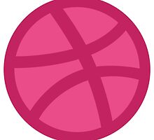 Dribbble Ball by maurosicards