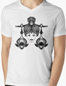 LIBRA Mens V-Neck T-Shirt