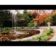 Kinclaven (Fountain) Photographic Print