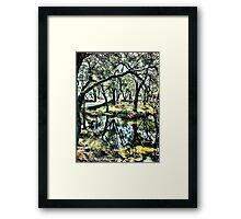 Dalienutopia - Bridge Framed Print