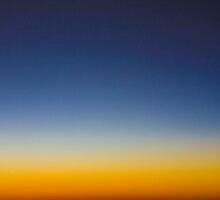 Blue & Orange by John Turton