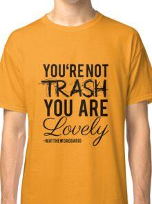 Matthew Daddario - Trash Classic T-Shirt