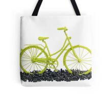 Bicycle triumphs traffic Tote Bag