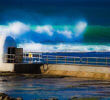 Early Morning Surf by John Turton